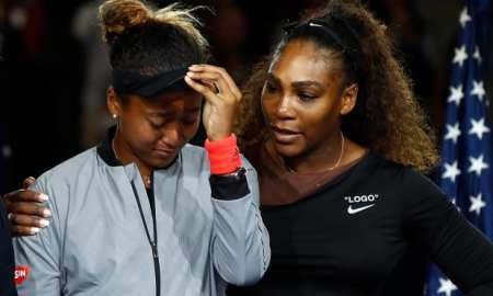 Serena Williams & Naomi Osaka US Open 2018.