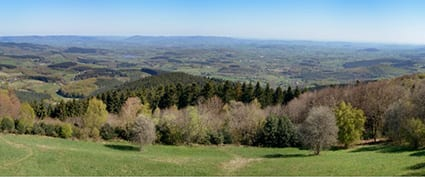 Bibracte, spread over 200 hectares in the heart of the spectacular Morvan Regional Natural Park