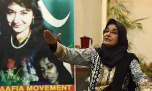 Aafia Siddiqui Only a few signatures away from her release.
