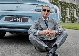 Hackett London and Aston Martin new collaboration...Aston Martin Rapide S Hackett Edition