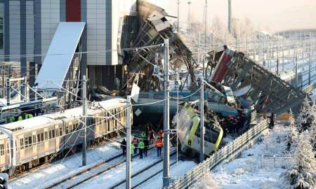 Ankara Train Crash December 12 2018, killing 9 people