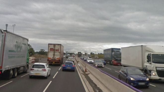 M6 motorway reopens after multi-vehicle crash