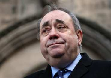 Breaking News: Alex Salmond arrested for sexual harassment