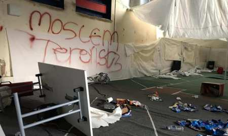 On the day yvonne Ridley addressed a Holocaust Memorial event in Newcastle just nearby thugs from the far right went on a wrecking spree at a local Muslim academy. History has taught us nothing, she says.