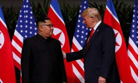 Donald Trump & North Korea leader