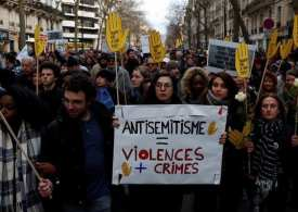 France unites to rally against anti-Semitism