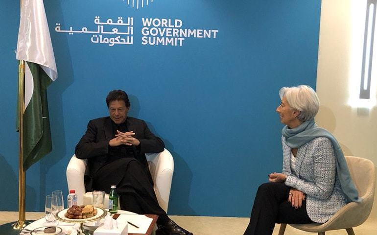 Imran Khan struck a deal at Dubai summit - with IMF