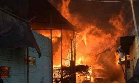 Over 200 Muslim homes burnt in India's Meerut district