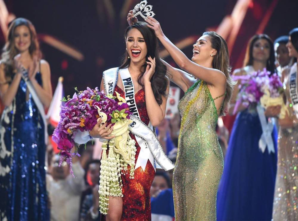 Catriona Gray-crowned Miss Universe 2018