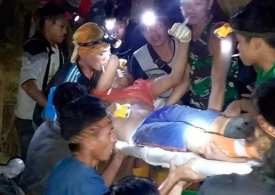 No more screams can be heard - Gold Miners feared dead