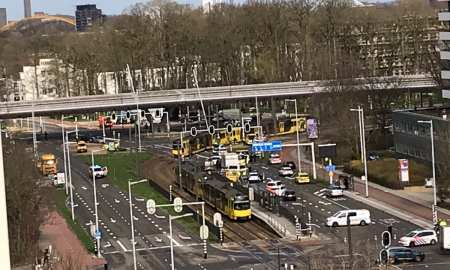 Shooting on public tram in the Netherlands