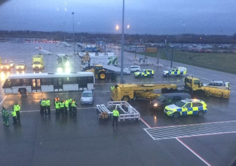 Outbreak; Barbados flight quarantined at Gatwick airport