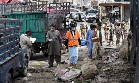 Twenty dead, scores injured in blast in Pakistan