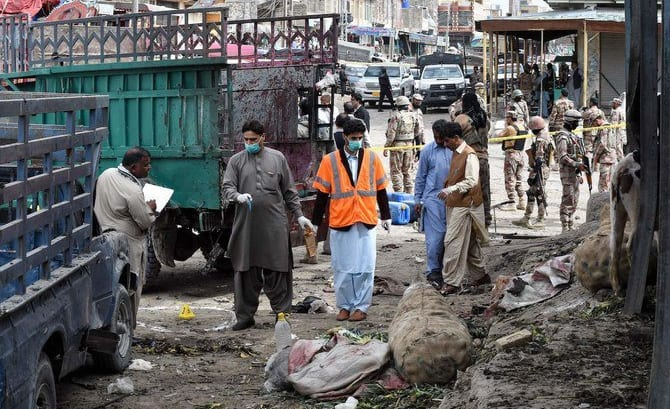 Deadly blast In Pakistan - kills 20 & injures hundreds