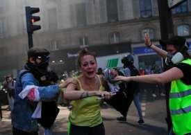Mayhem in Paris as Yellow vest demonstrators, police clash