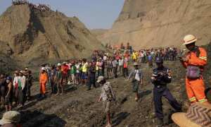 landslide in northern Myanmar engulfed jade miners while they were sleeping, the latest deadly accident in a notoriously dangerous industry.