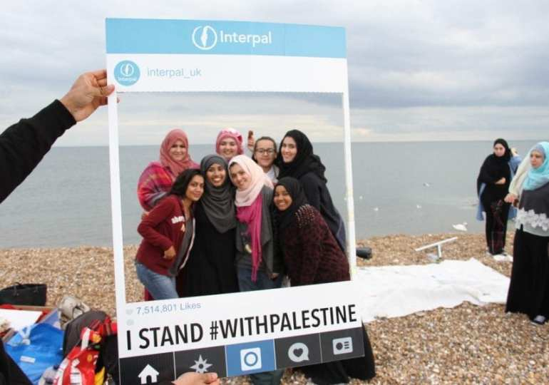 Why is a British charity targeted by the pro-Israel lobby?