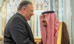 King Salman meets Pompeo amid US-Iran tensions
