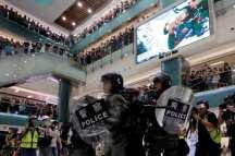 Hong Kong police wnats more protection against protestors