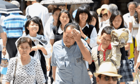 Deadly Japanese heatwave hospitalises kills 11