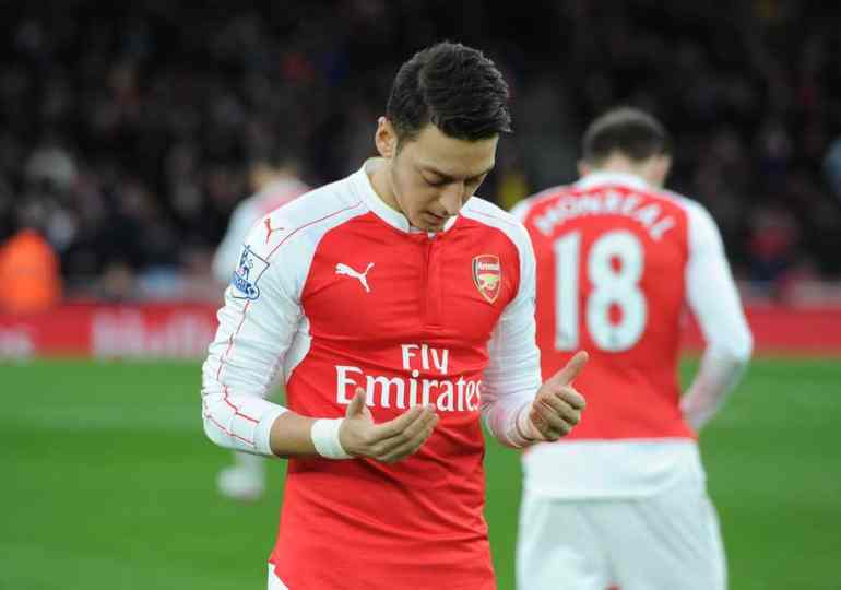 Ozil terrified in a racist attack on Muslims