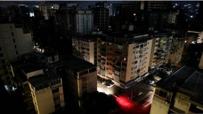 blackout blamed on electromagnetic attack