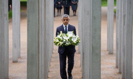 London Mayor 7/7 memorial
