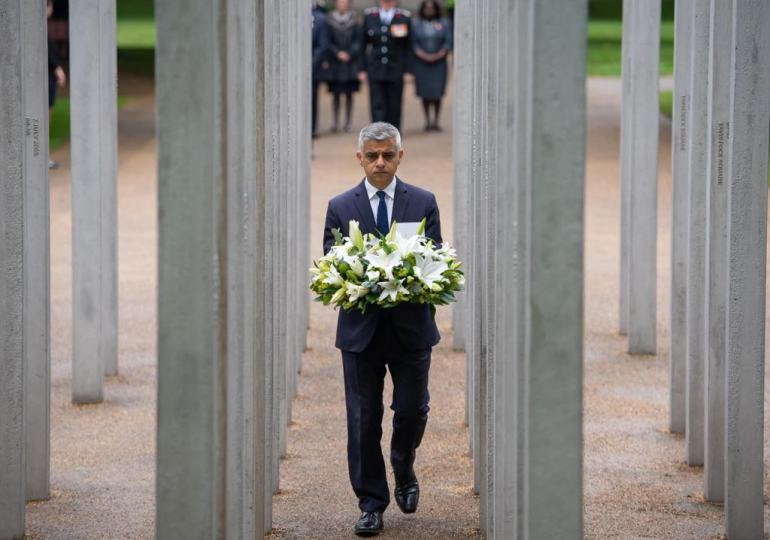 7/7: khan pays tribute on anniversary of London bombings