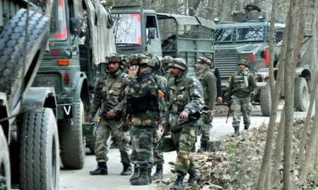 Pakistan army in Kashmir, getting ready to go to any lengths to protect the land