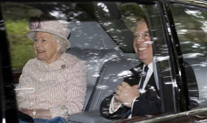 The Queen shows support for Prince Andrew amid 'groping' claims