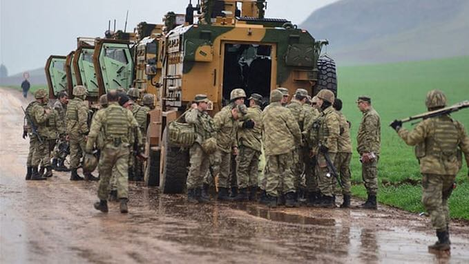 """Turkey has """"strongly"""" condemned an airstrike on its military convoy"""