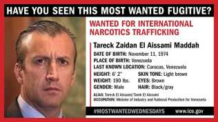 US most wanted : US names Venezuelan minister