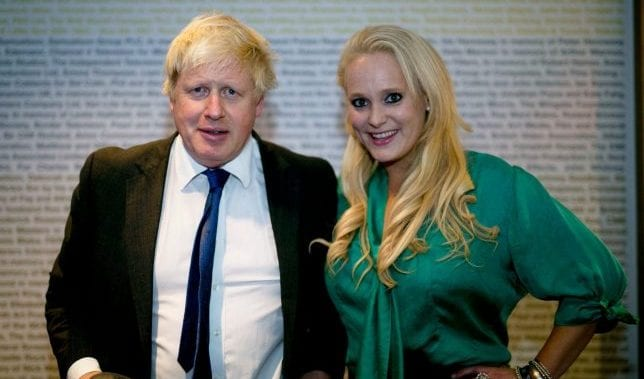 Arcuri 'told friends of affair with Boris'