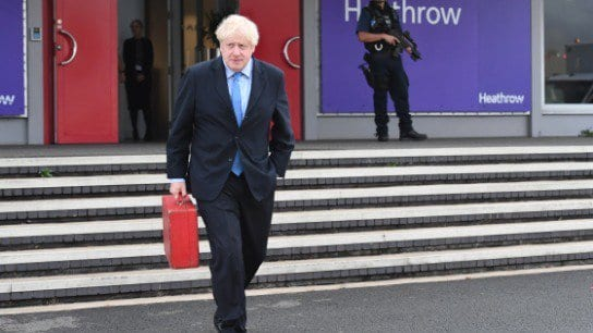 Boris Johnson refuses to rule out suspending parliament again