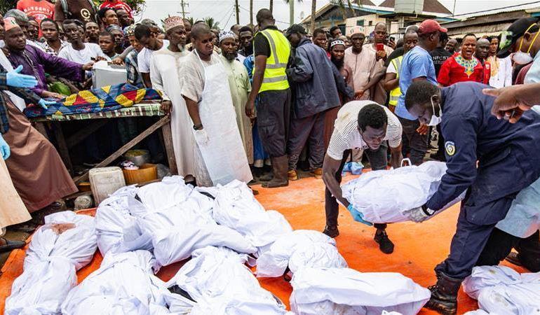 26 children die in Liberia boarding school fire
