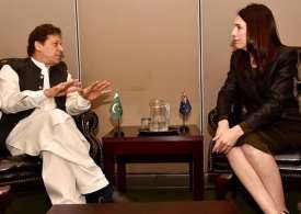 Imran Khan and Jacinda Arden meet to discuss Global rise of Islamophobia
