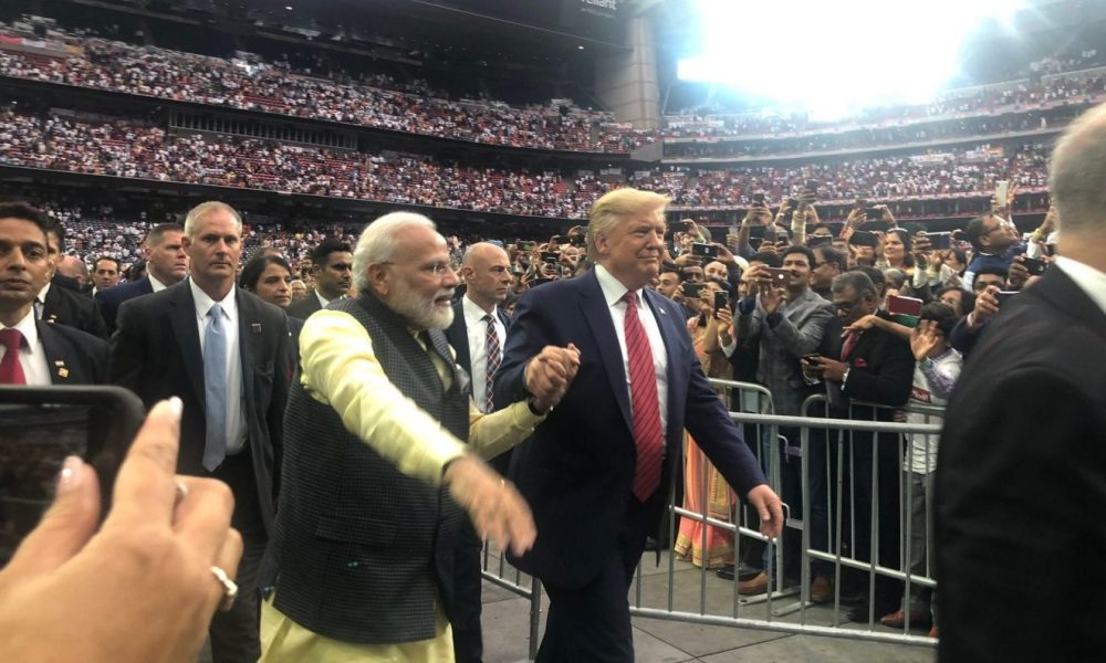 Indian prime minister bills Trump as 'true friend' in White House at Houston rally