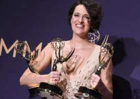 Congrats Phoebe! Fleabag star wins big at the Emmys