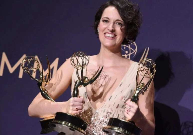 Congrats Phoebe! Fleabag star wins big at the Emmys