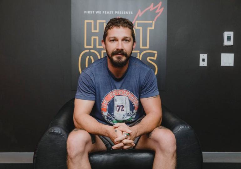 Shia LaBeouf tells the real Tom Hardy knockout story on HotOnes