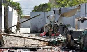 Taliban suicide attack kills at least 48 before Afghan elections