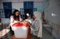 Outsiders claim the lead after Tunisia presidential poll first round