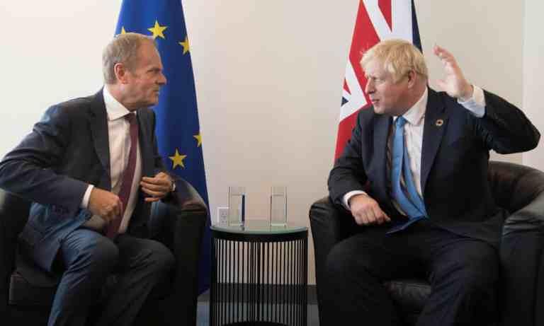 Boris asks for EU extention