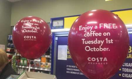 Free Costa coffee for everyone #Internationalcoffeeday