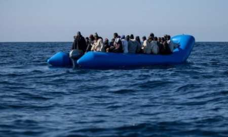 Two confirmed deaths Migrant as the migrant ship capsizes, near the coast of Italy, as rescue efforts save 22 lives out of 50