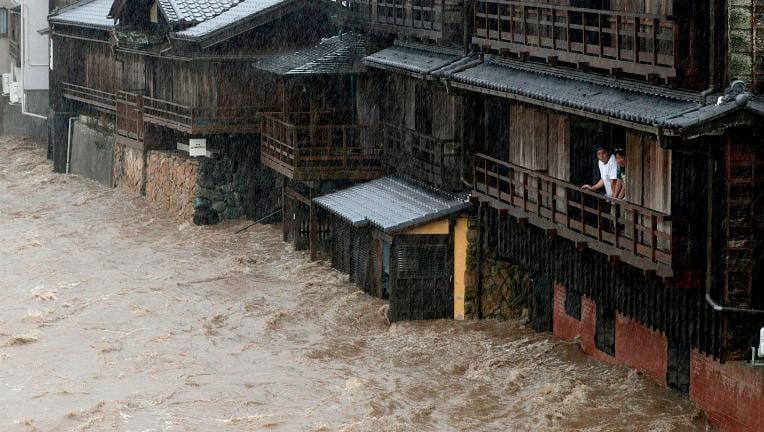 Typhoon Hagibis destroys Japan