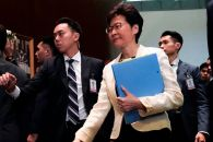 China drafts plan to replace Carrie Lam as KH's chief exec: FT
