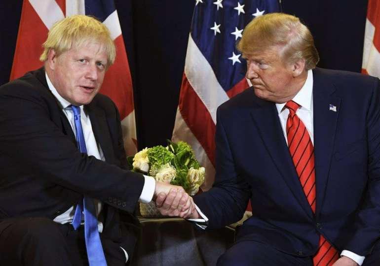 Boris Johnson 'lying about protecting the NHS from Trump'