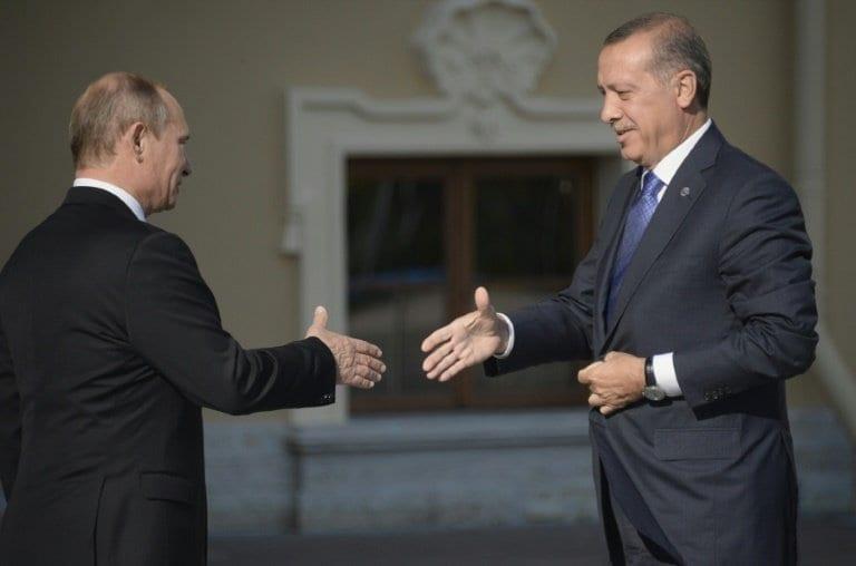 Russian & Syrian forces to deploy to northeastern Syria outside Turkey operation zone - Putin-Erdogan agreement