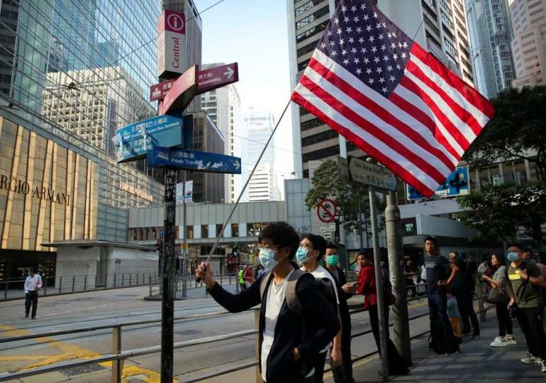 HK uni stalemate continues as US bill sets up clash with China